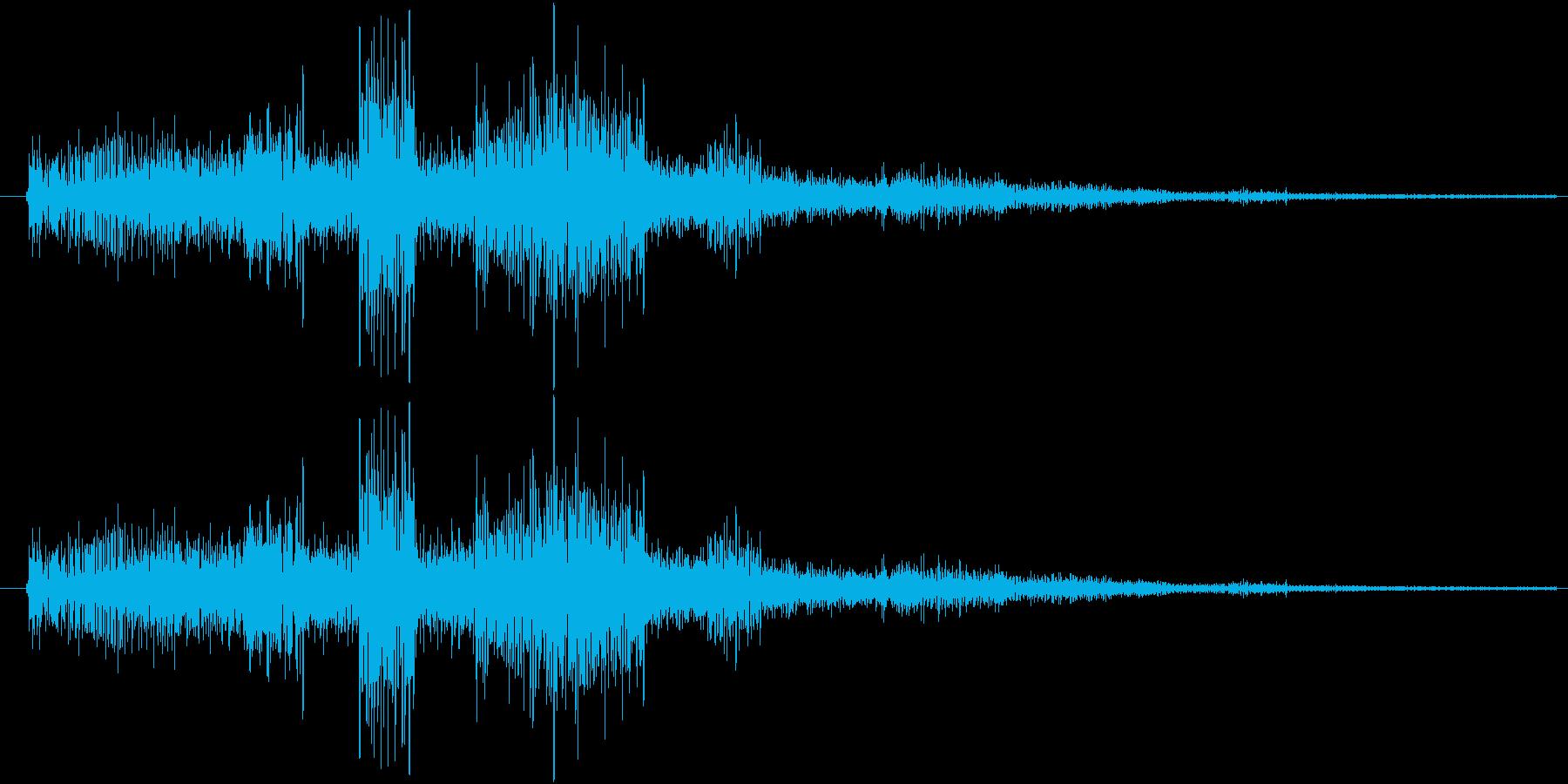 サウンドロゴ11の再生済みの波形
