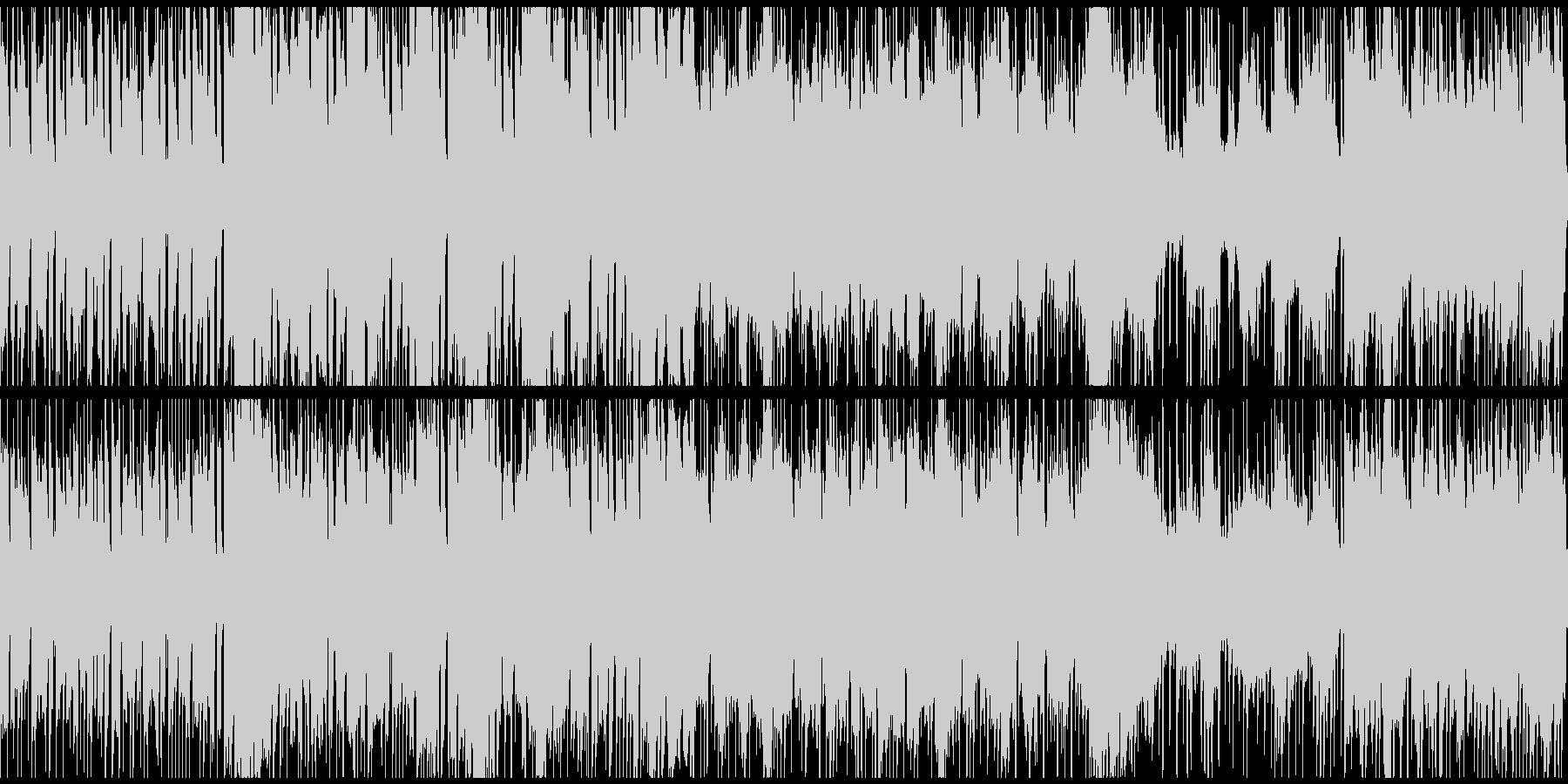 RPGノーマルバトル(ループ仕様)の未再生の波形