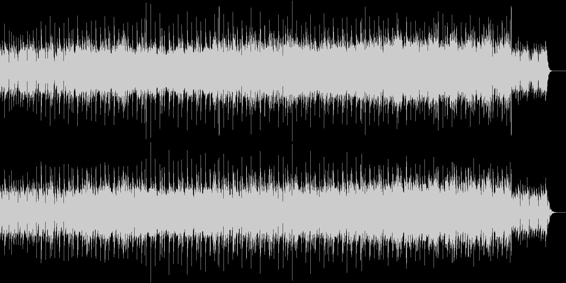 ギターとピアノが切ない旋律を奏でるBGMの未再生の波形