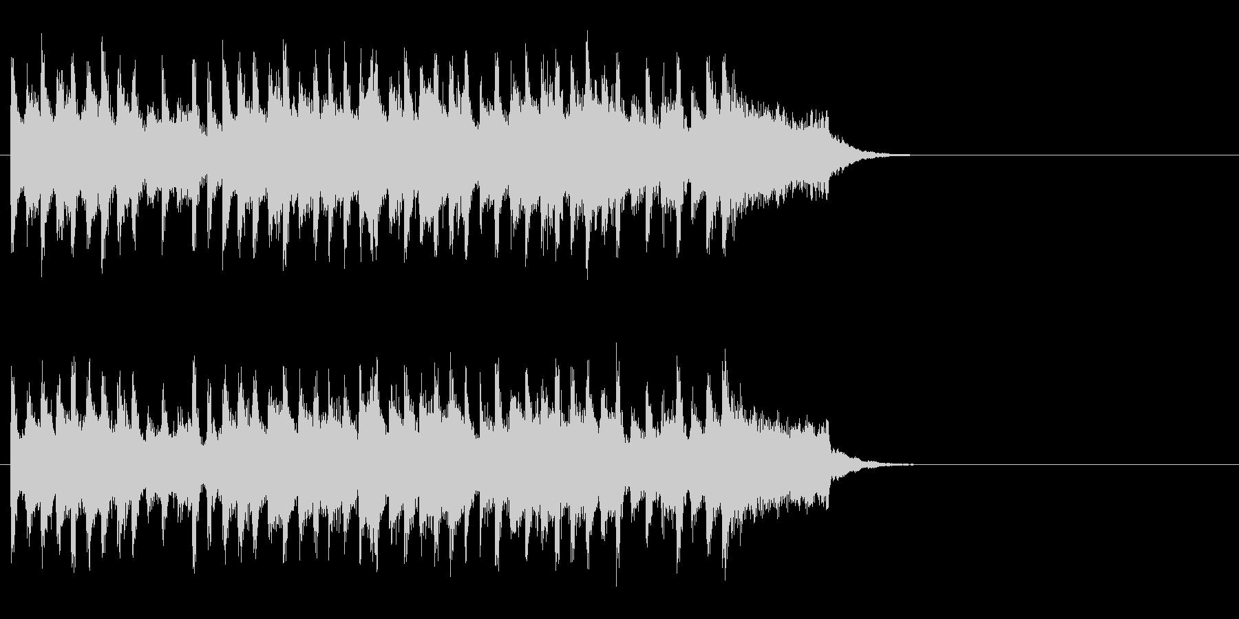 出発のエンディングBGM(Aメロ)の未再生の波形