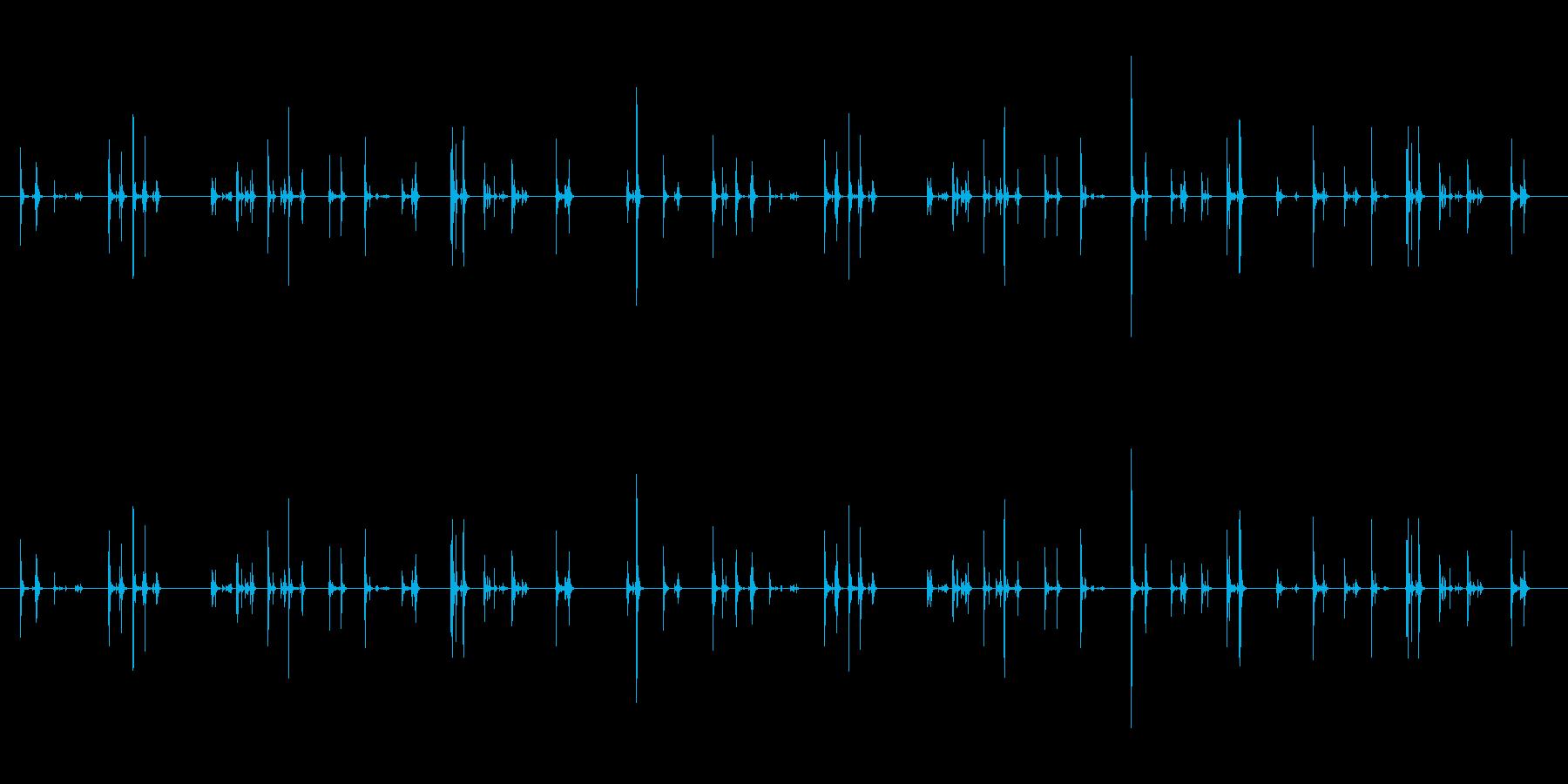 【PC キーボード01-テンキー2】の再生済みの波形