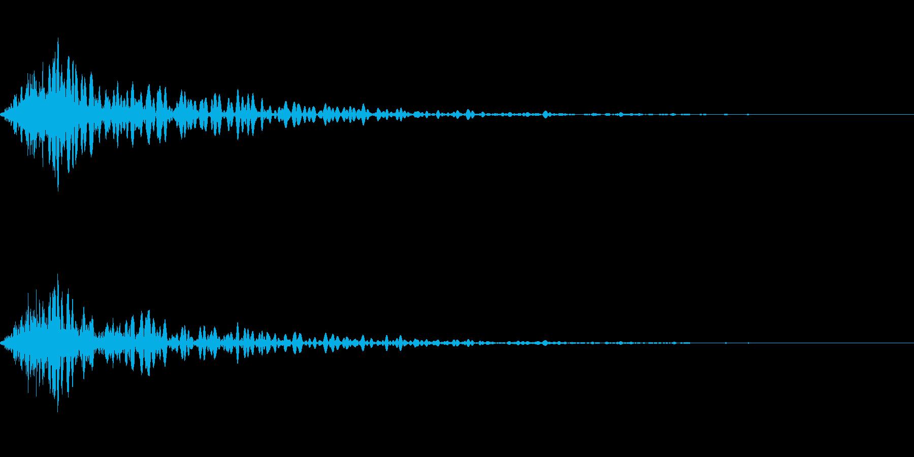 カットイン演出に使えるSE_その4の再生済みの波形