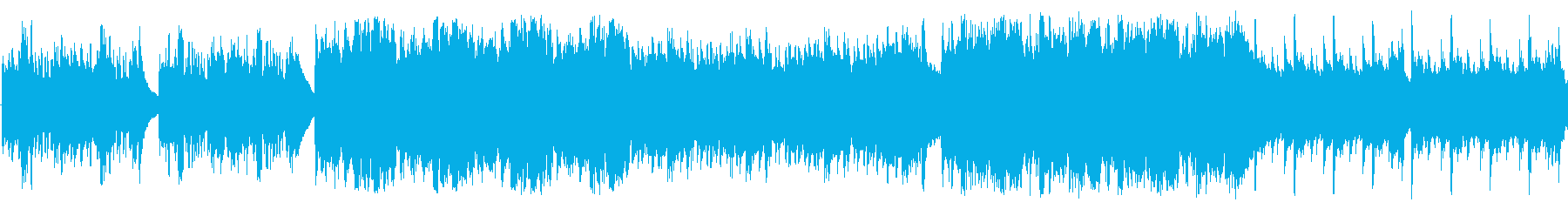 温かく牧歌的なアコギ主体の楽曲の再生済みの波形