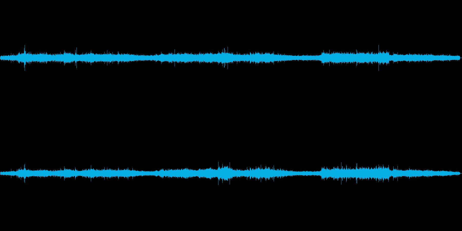 サワサワ(風と草原の音)の再生済みの波形