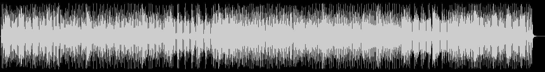 楽しげなシンセサイザードラムポップの未再生の波形
