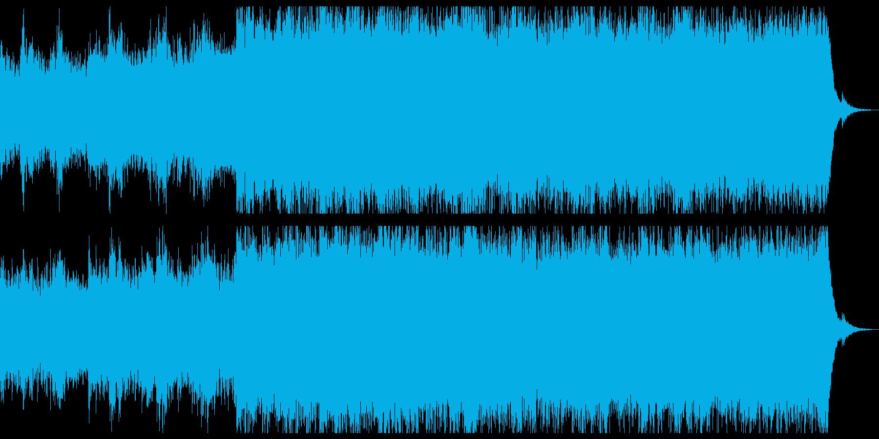 雄大で少し切ないチルアウトアンビエント。の再生済みの波形