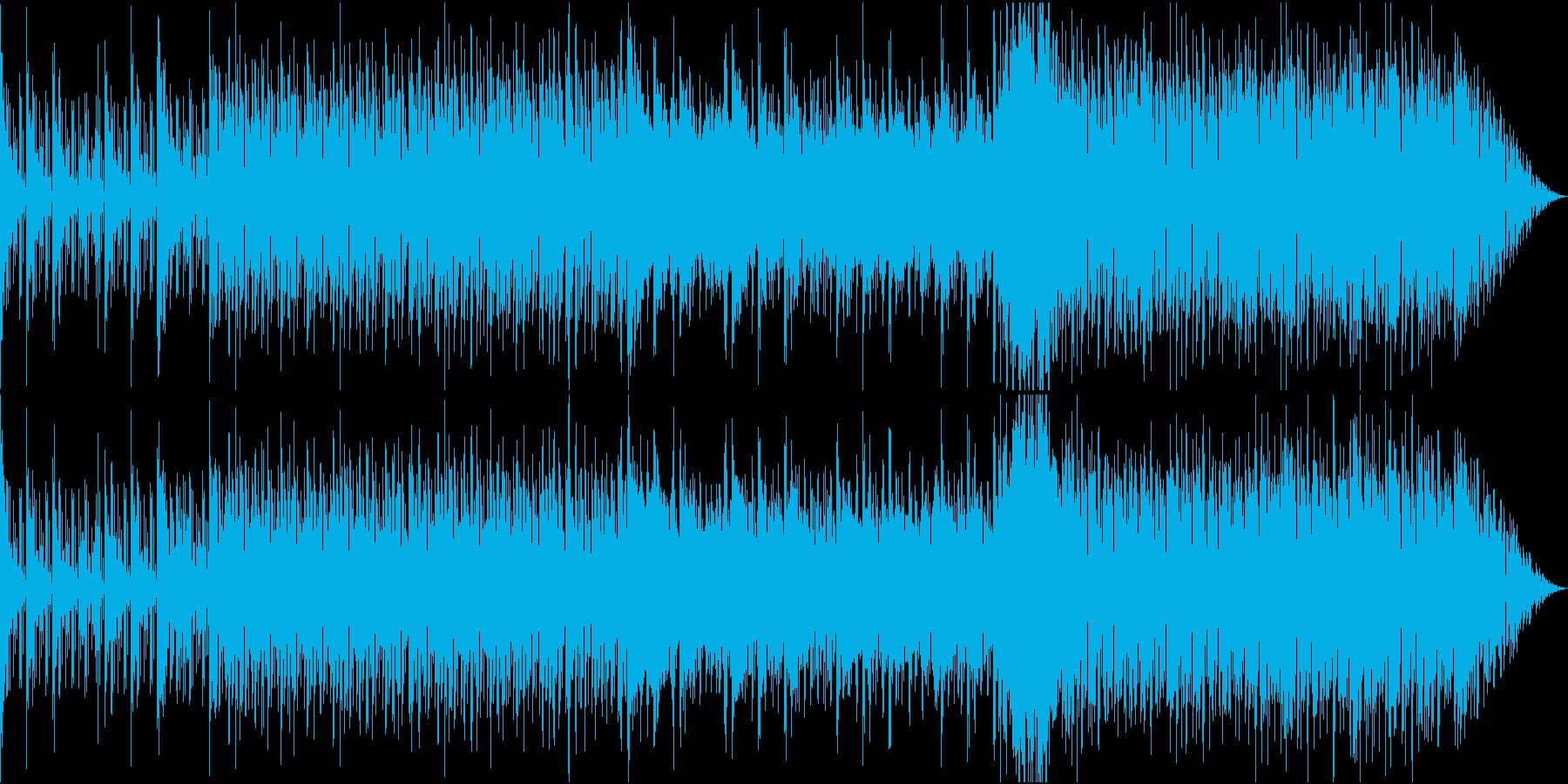 軽快なリズムに秋の始まりをかんじさせる曲の再生済みの波形