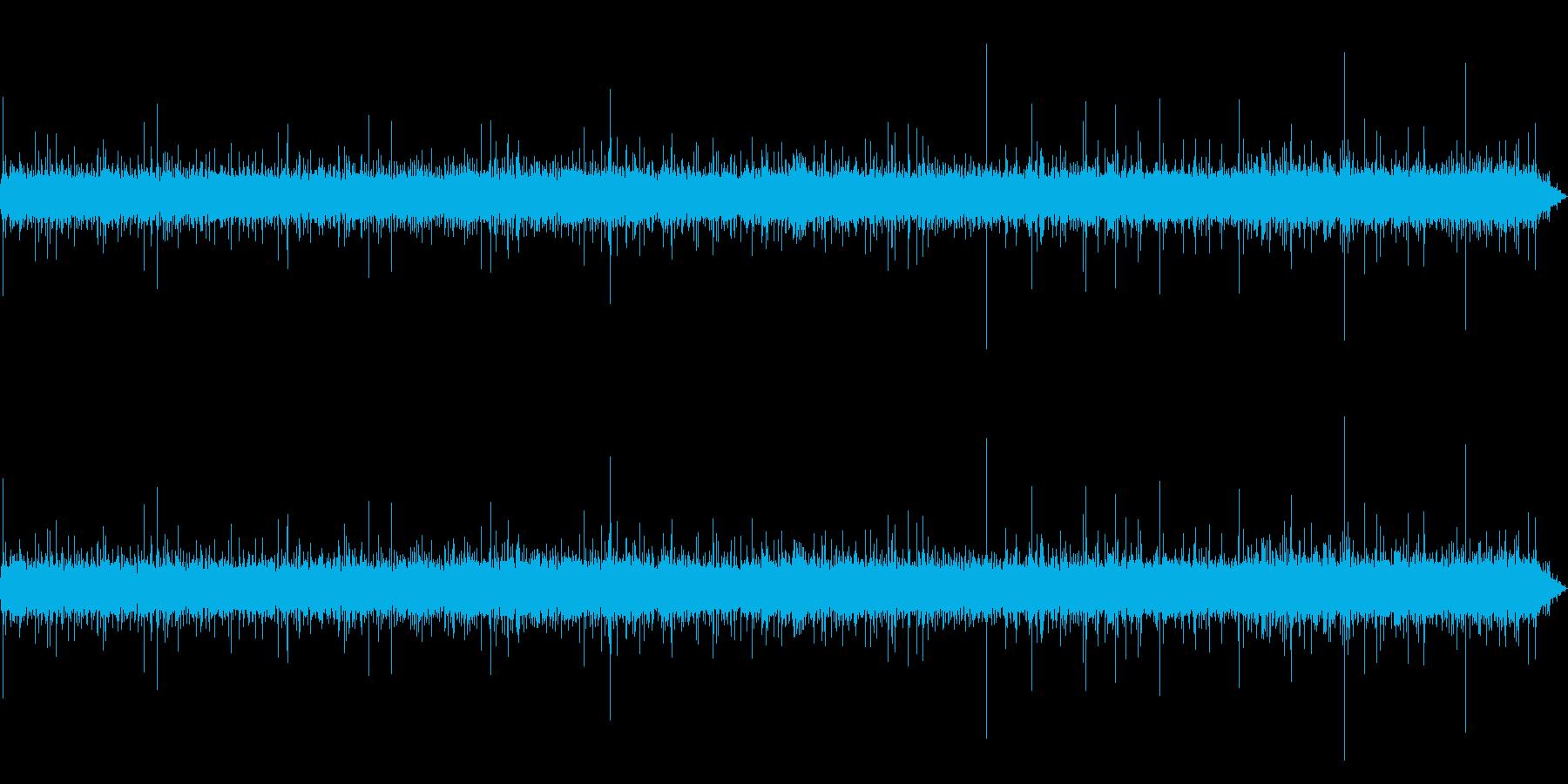 フライパンで煮る音を収録いたしました。の再生済みの波形