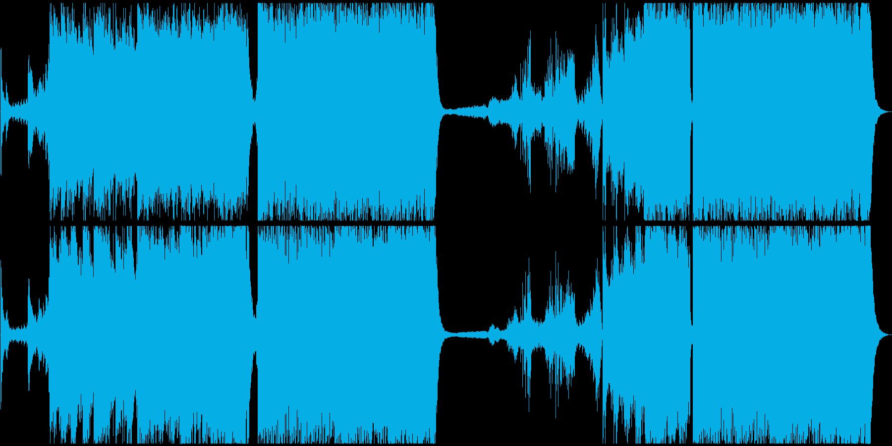 壮大なファンタジーRPGのテーマの再生済みの波形