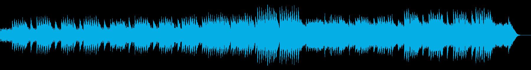 きらきらしたオルゴールのオリジナル曲の再生済みの波形