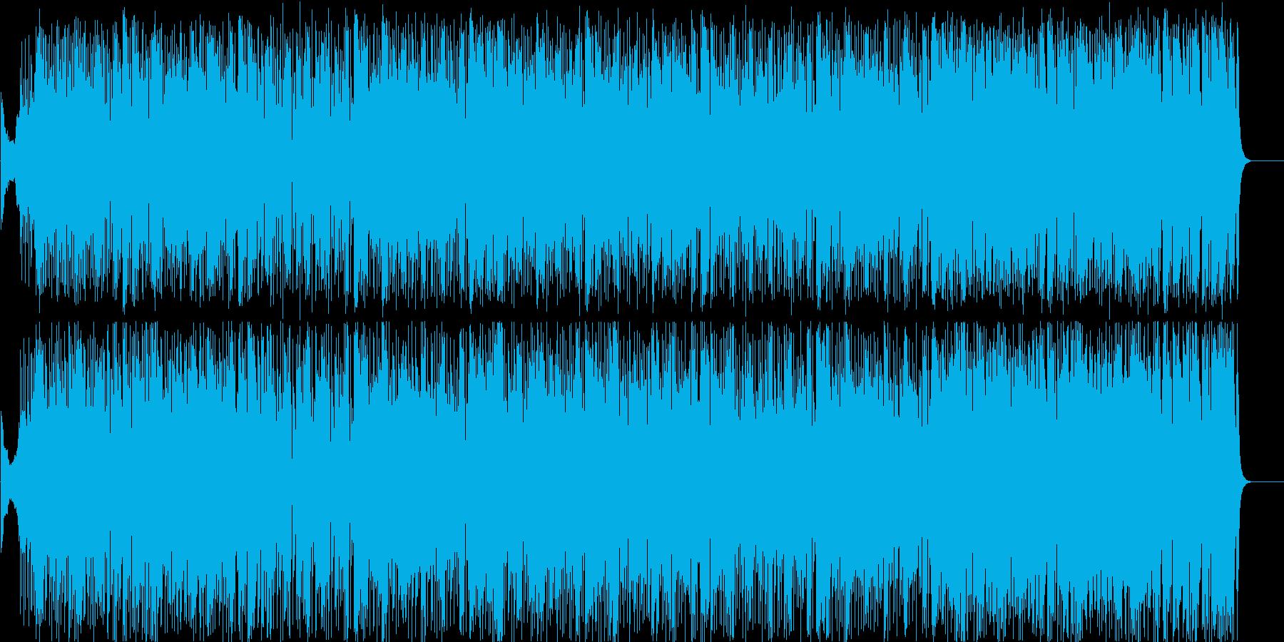 コミカルブルース にぎやか 忙しいの再生済みの波形
