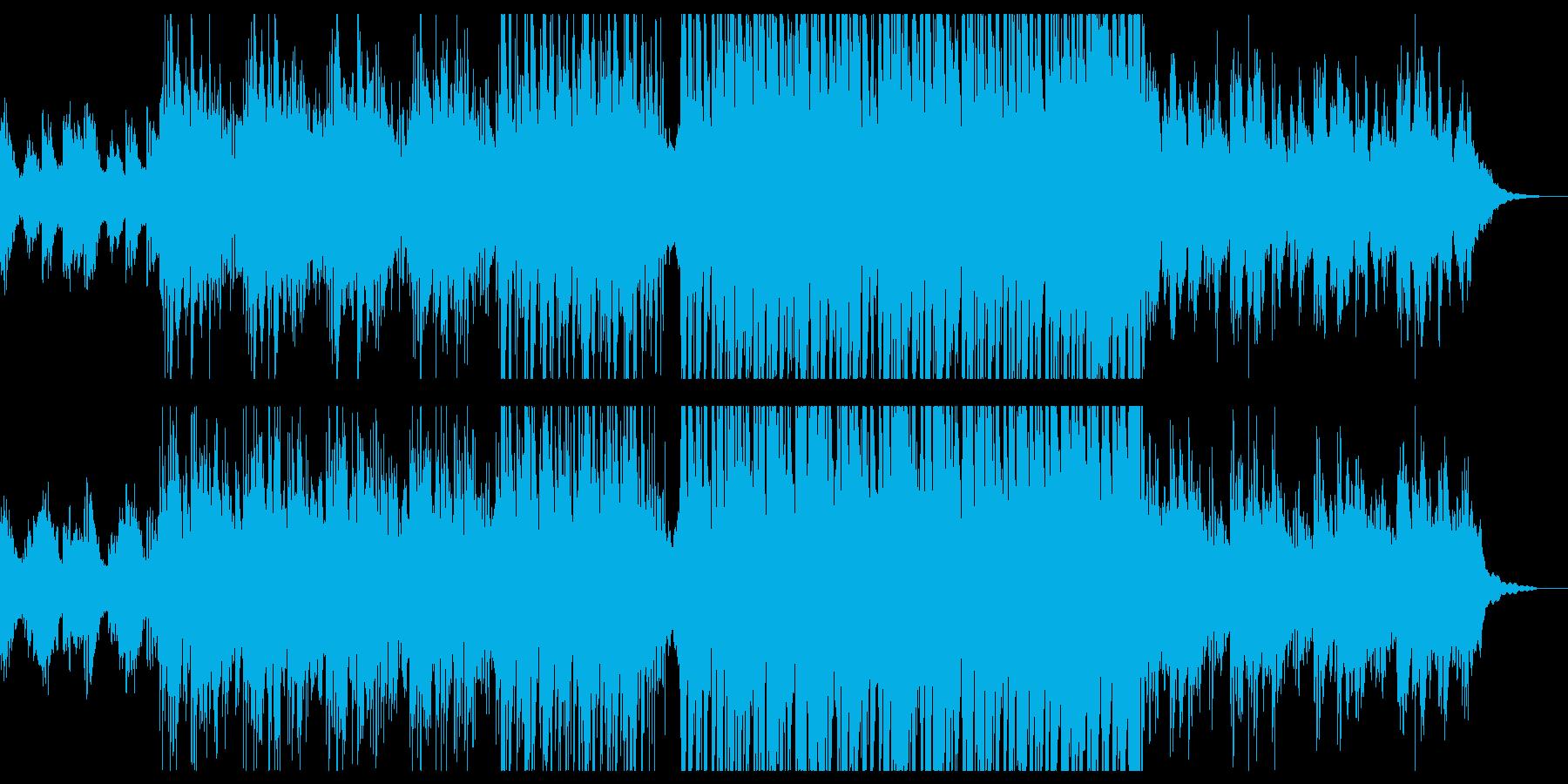 幻想的なピアノ系エレクトロニカの再生済みの波形