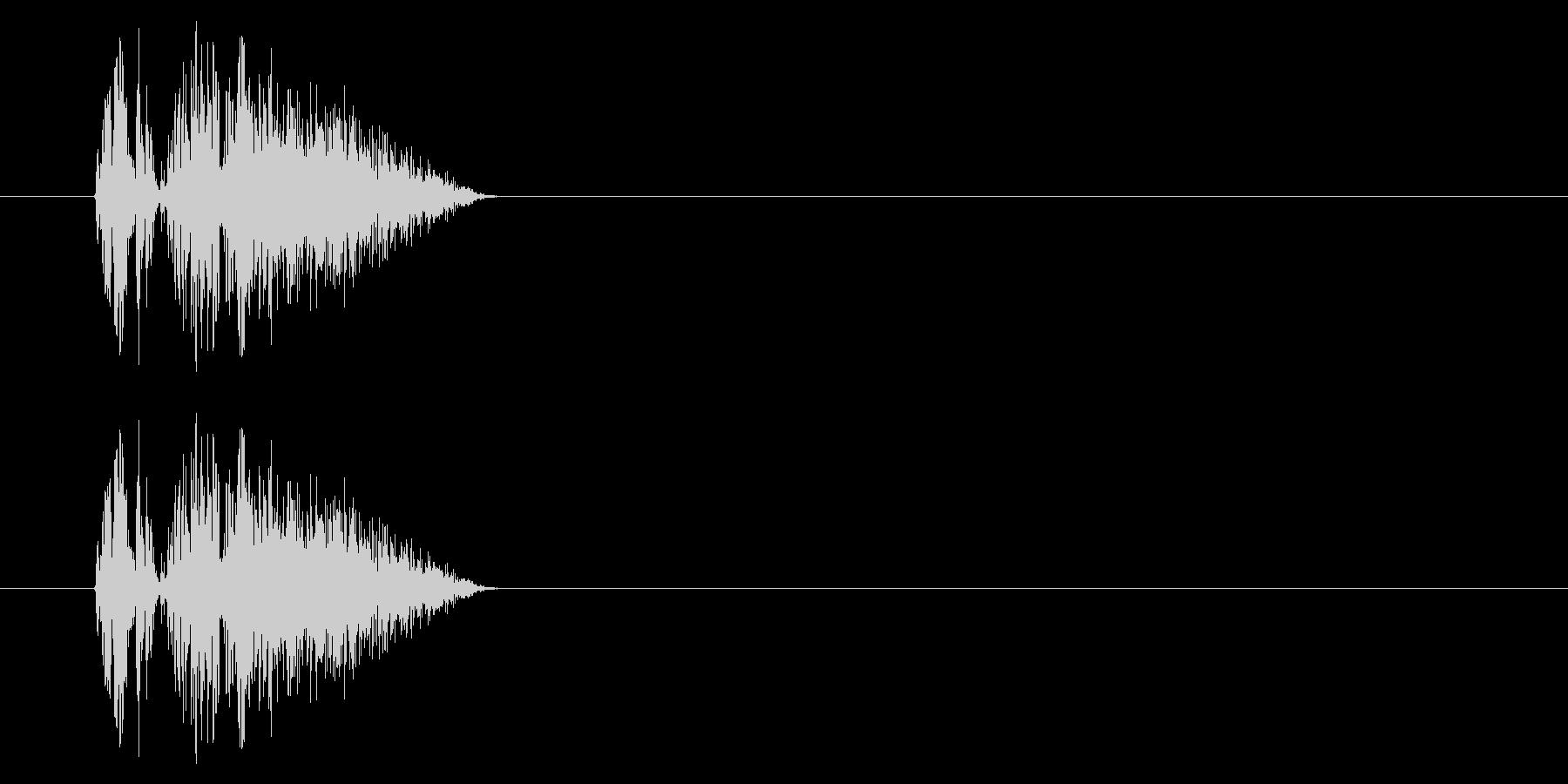 GEN-格闘01-03(ヒット)の未再生の波形