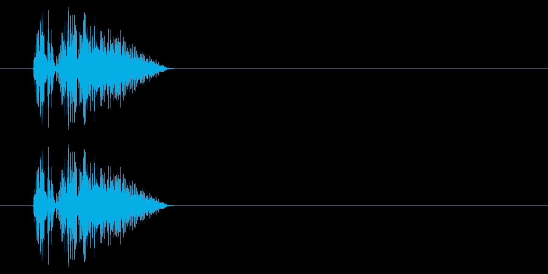 GEN-格闘01-03(ヒット)の再生済みの波形