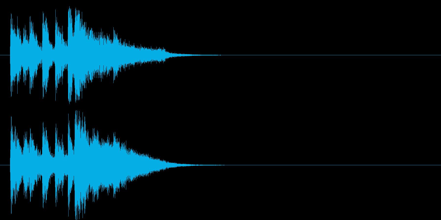 場面転換 報道 情報 テーマ 登場の再生済みの波形