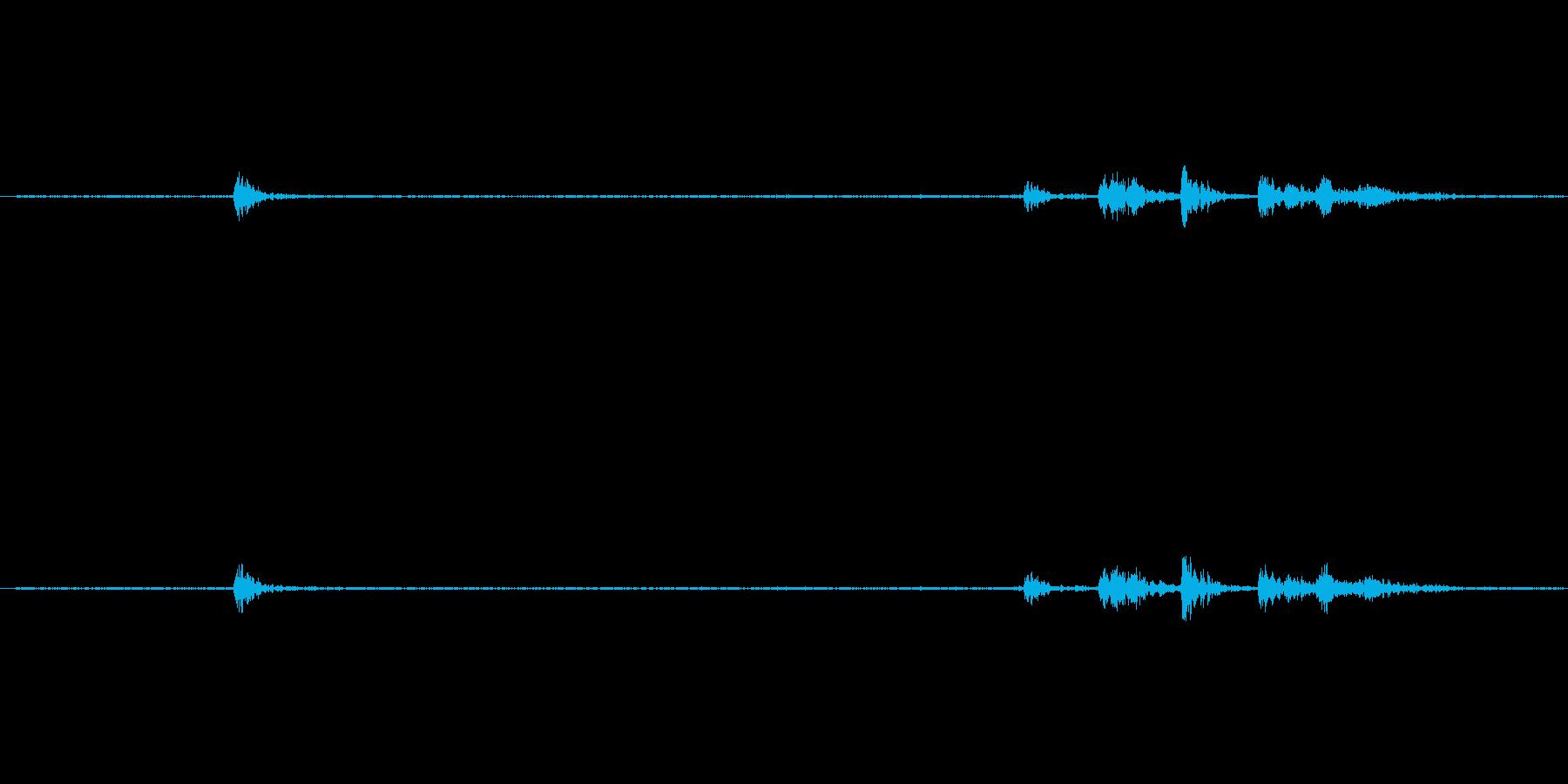 【生音】キッチン・食器・お皿 - 6の再生済みの波形