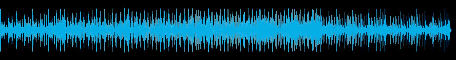 かわいらしくメルヘンチックなポップスの再生済みの波形