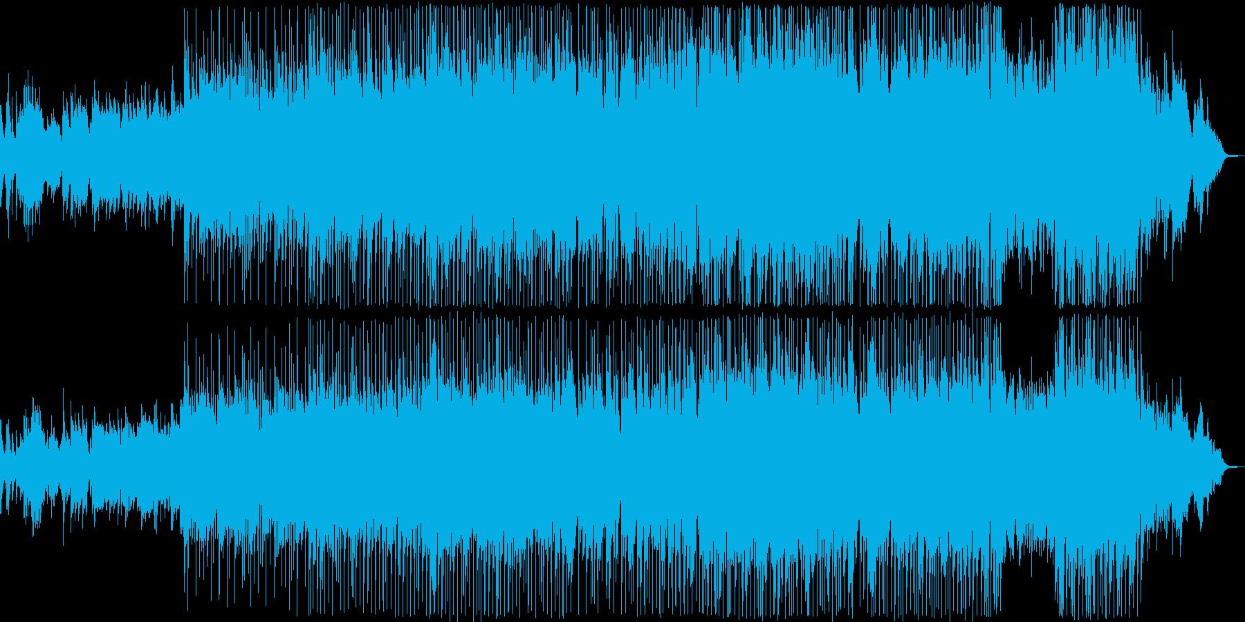 優しい雰囲気のバラード10の再生済みの波形