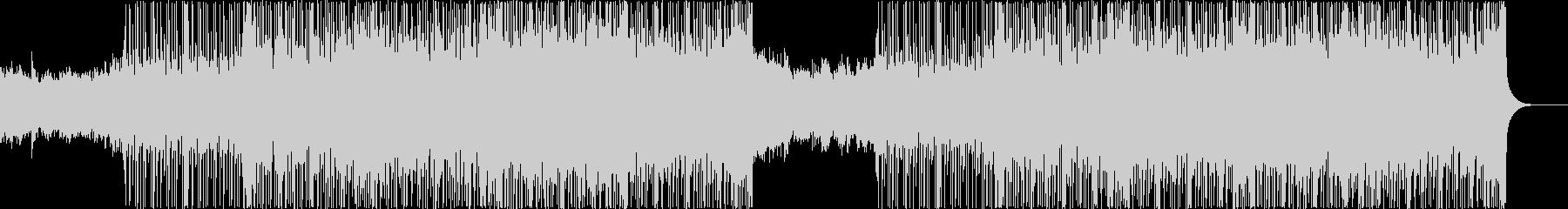 スラップベースが特徴的なフュージョンの未再生の波形