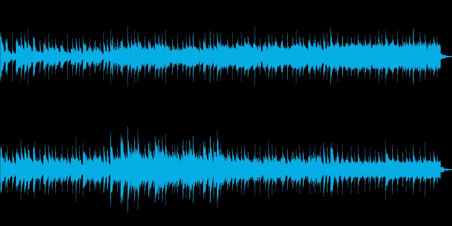 不思議な曲の再生済みの波形