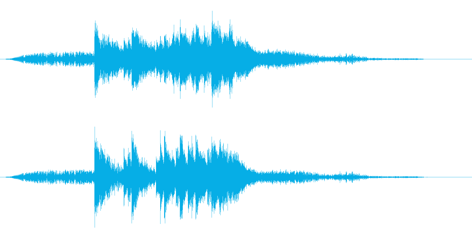 タイトル用 グリーグ作 ピアノ協奏曲よりの再生済みの波形