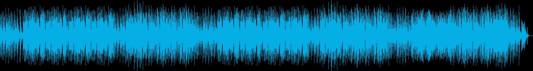 悲しげな回想シーンをイメージしました。の再生済みの波形
