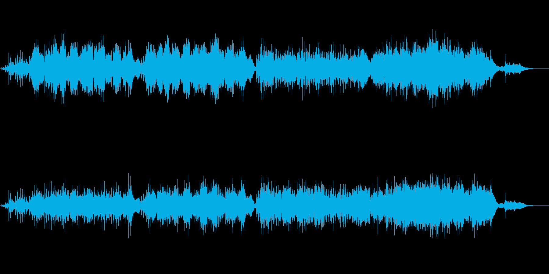 ほのぼのとしたモダンクラシックの再生済みの波形