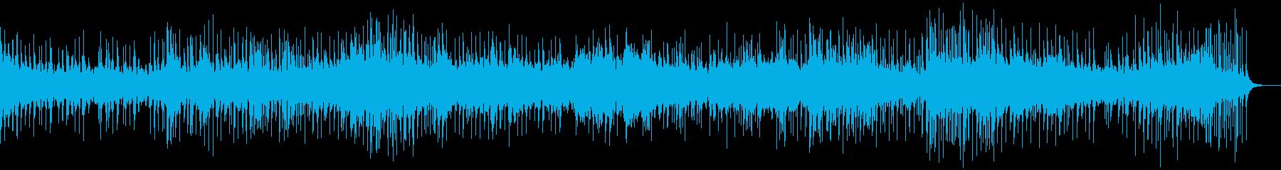 4分ソング 沖縄 ゆったり ビート入りの再生済みの波形