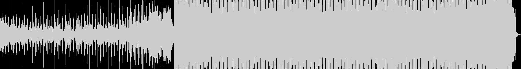 スタイリッシュで明るく爽やかなEDMの未再生の波形