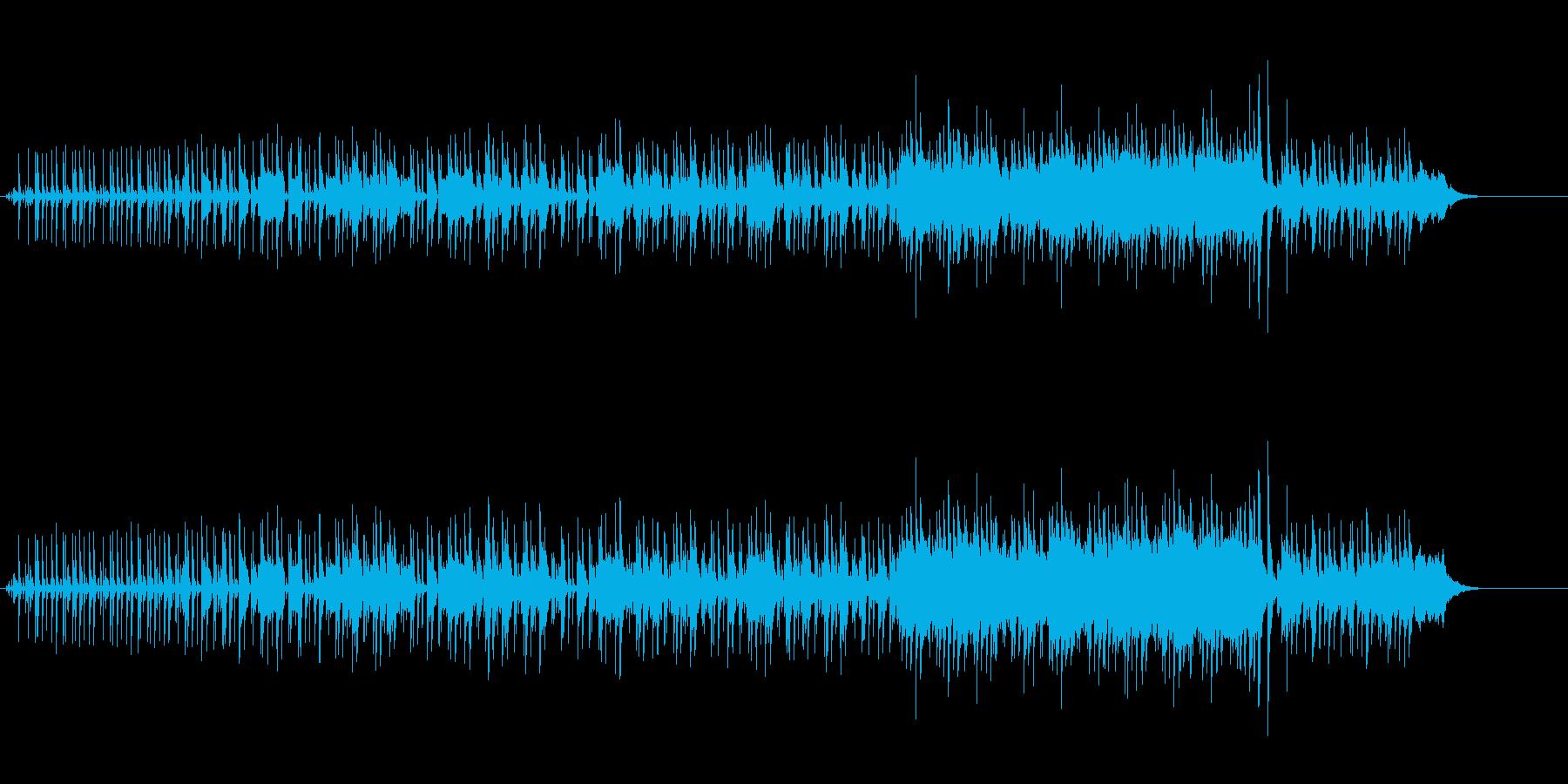 ムーディーなヨーロピアン・ポップスの再生済みの波形