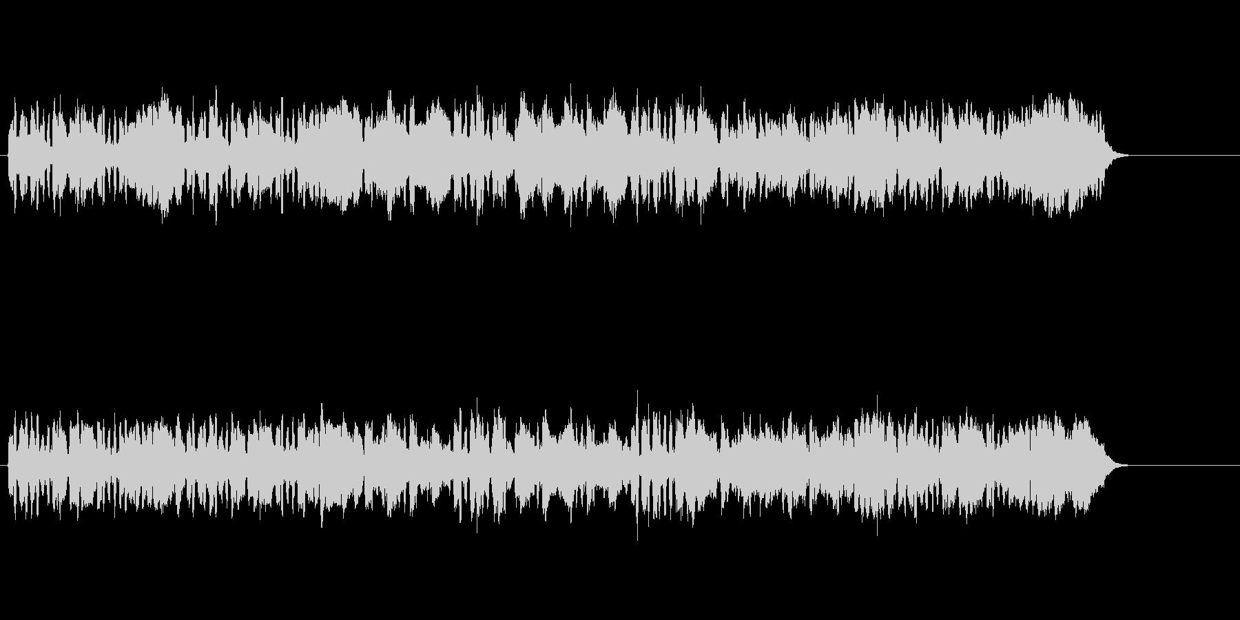 清らかな小編成クラシック楽曲の未再生の波形