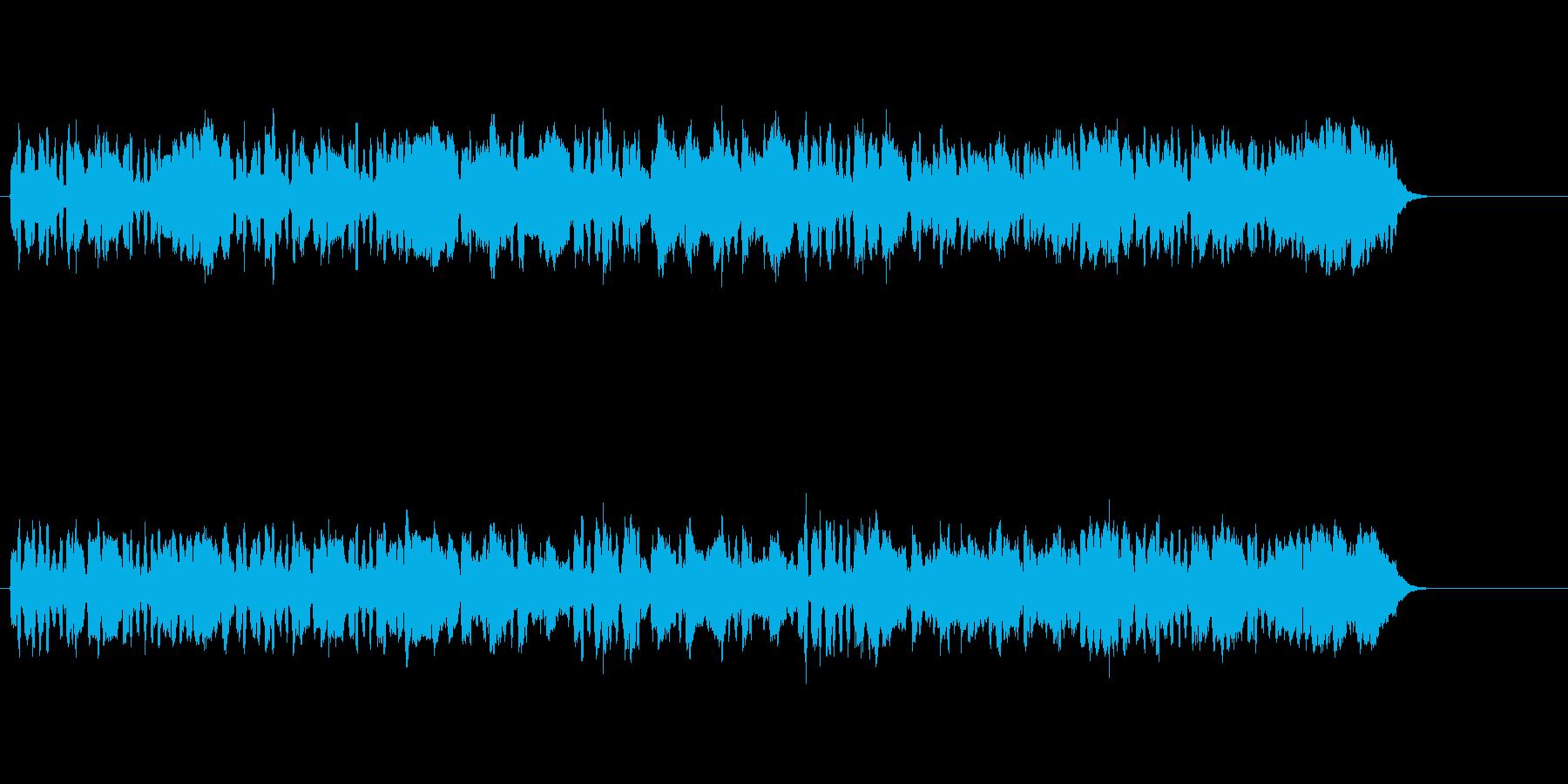 清らかな小編成クラシック楽曲の再生済みの波形