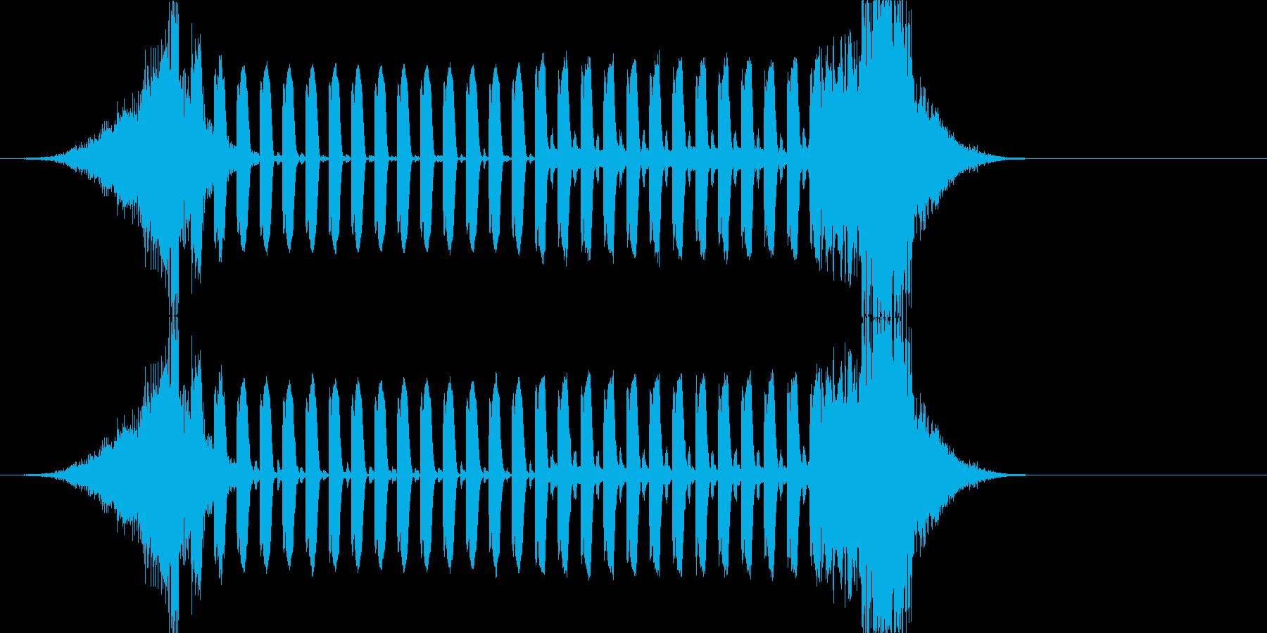 トランス・ハウス系ジングル ニュース番組の再生済みの波形