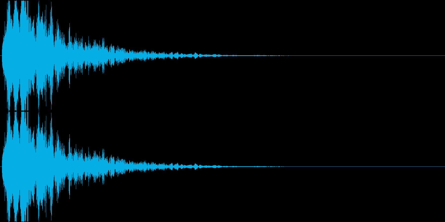 コーン+もやもや(ホラーゲーム、発見)の再生済みの波形