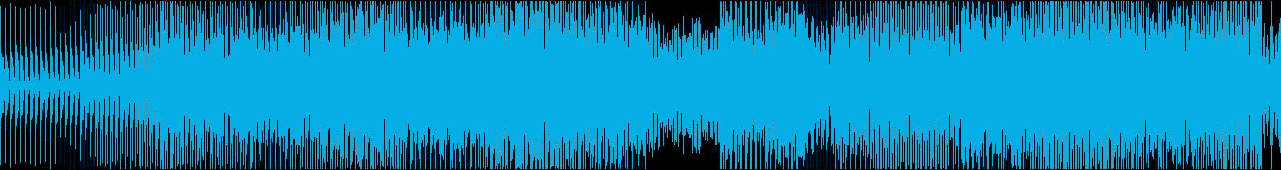 [ループ]ダンスミュージック5 2分の再生済みの波形