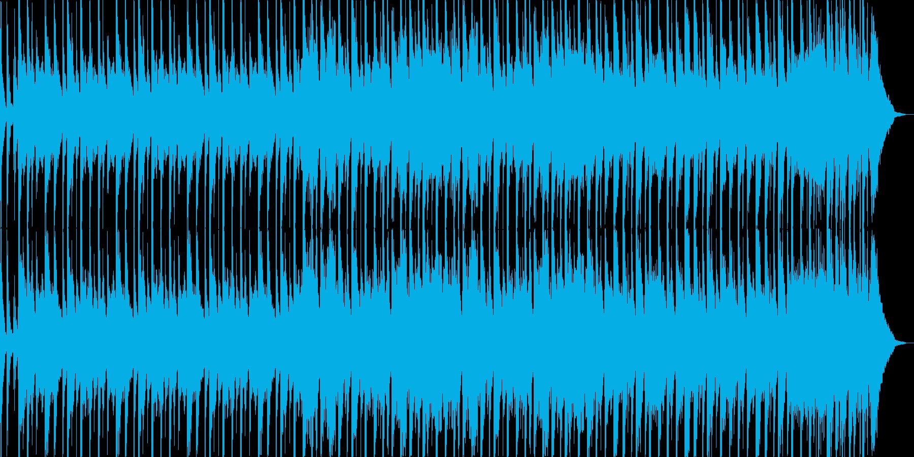 映像系に合いそうなコミカルブルースの再生済みの波形