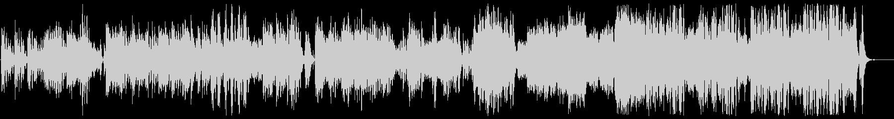 メルヘンで優しいシンセサウンドの未再生の波形