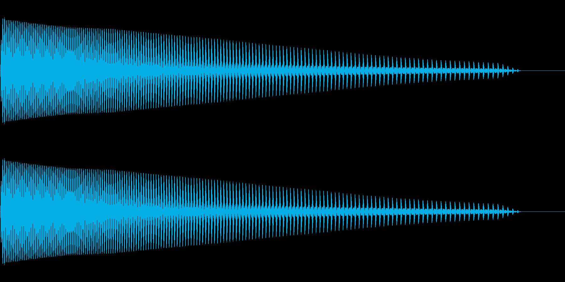 ドロップ ドカーン ドゥーンの再生済みの波形