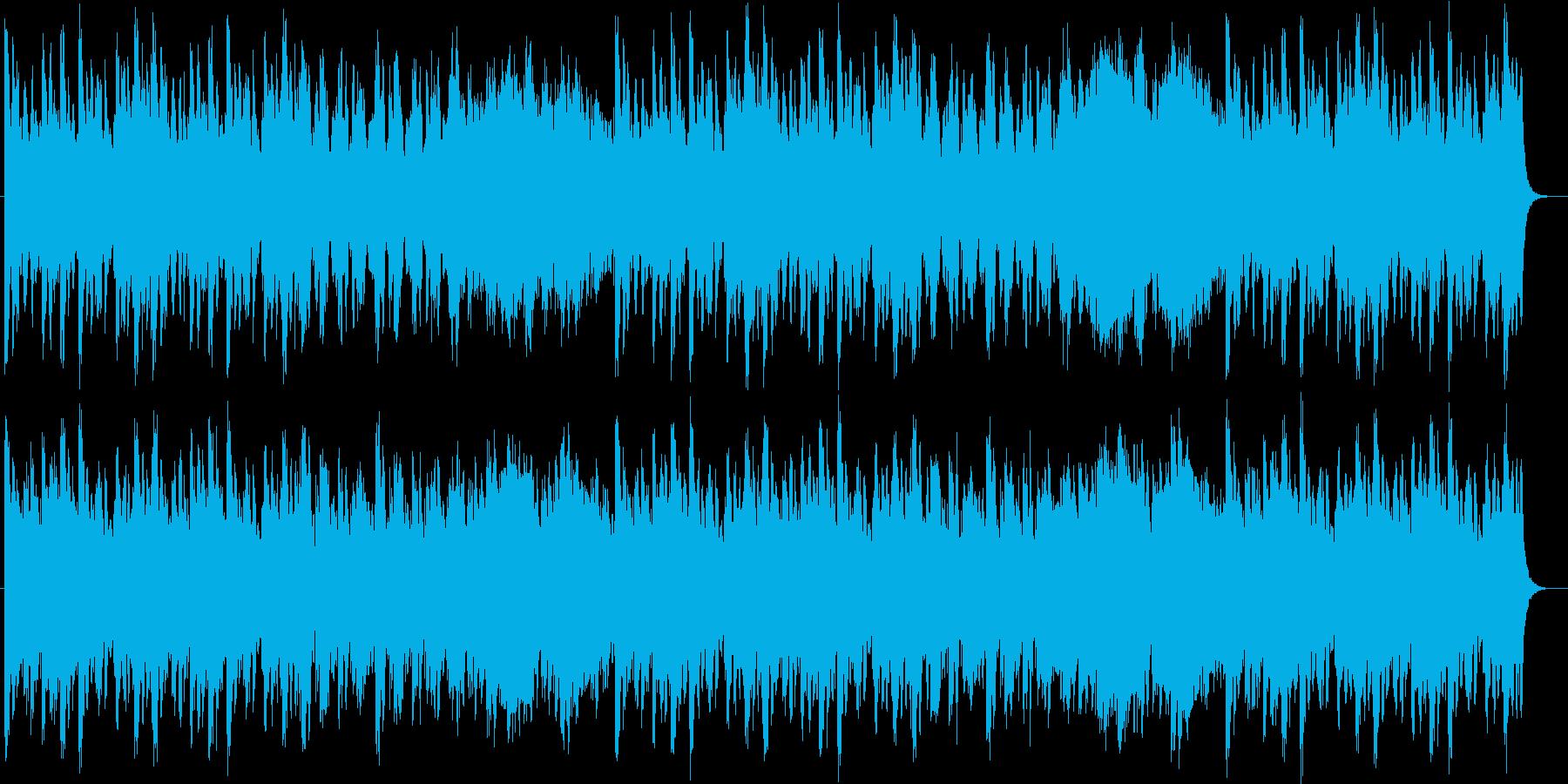 壮大で華麗なオーケストラサウンドの再生済みの波形