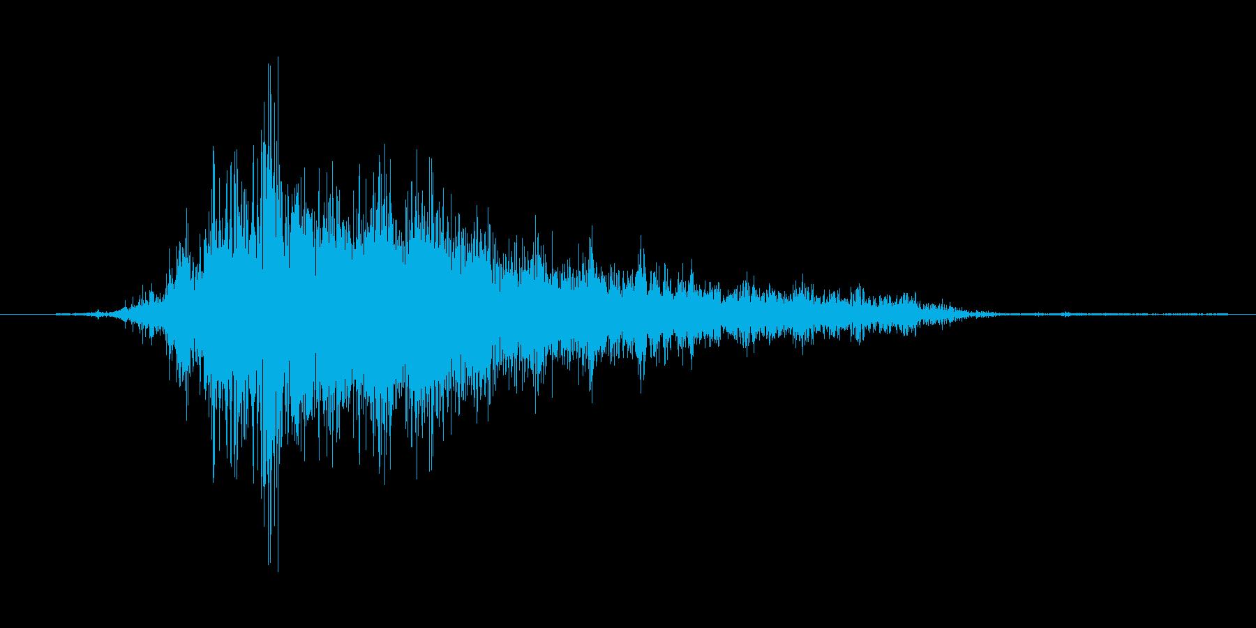 (おばけが威嚇する声)の再生済みの波形