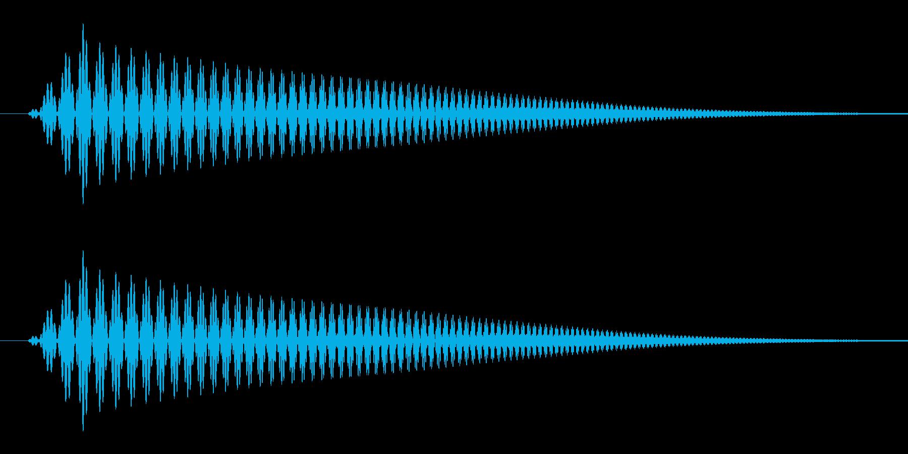 雲(もくっ/コミカル/妄想)の再生済みの波形