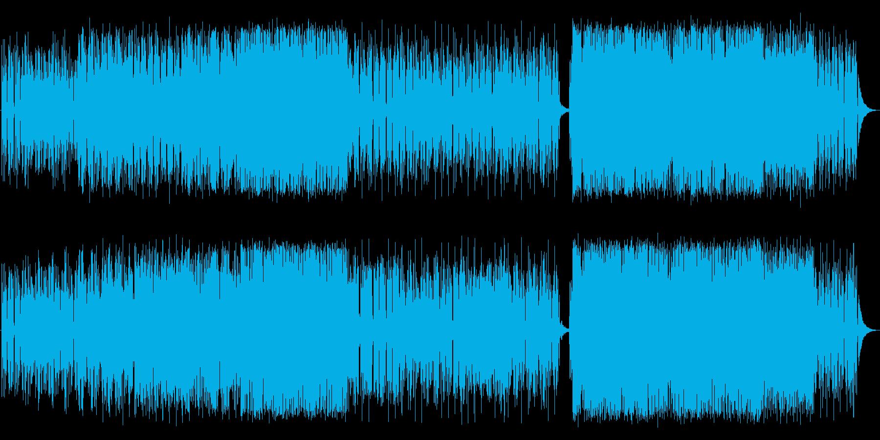 [TOKYO]東京に様々な想いを馳せる曲の再生済みの波形