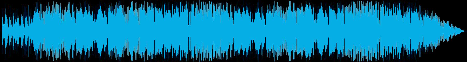 ほのぼのパズルゲーム向け日常BGMの再生済みの波形
