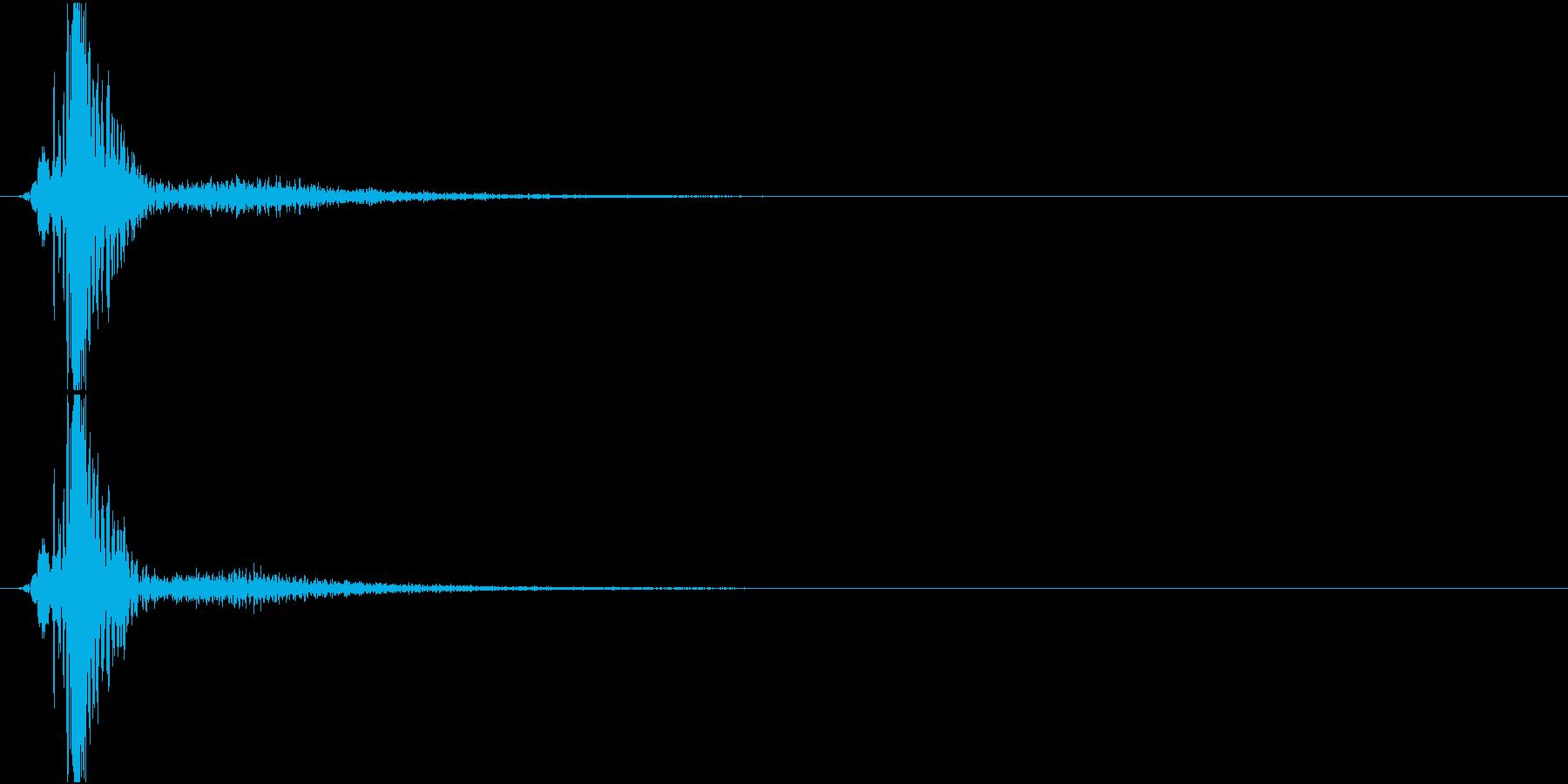 KAKUGE 格闘ゲーム戦闘音 45の再生済みの波形