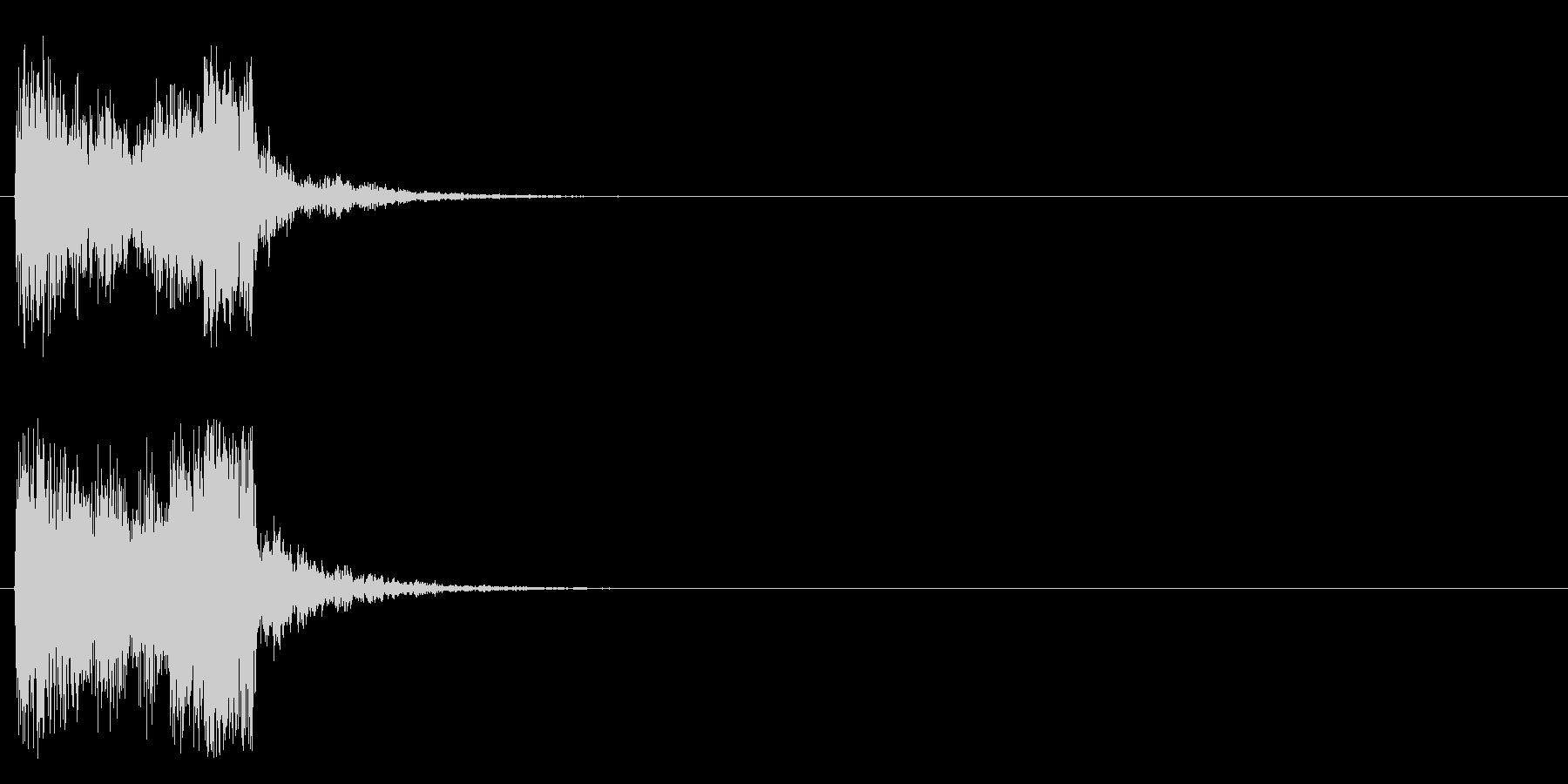 トゥイーの未再生の波形
