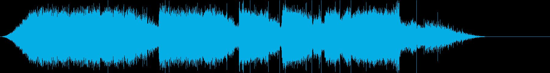 チェンソーで伐採の再生済みの波形