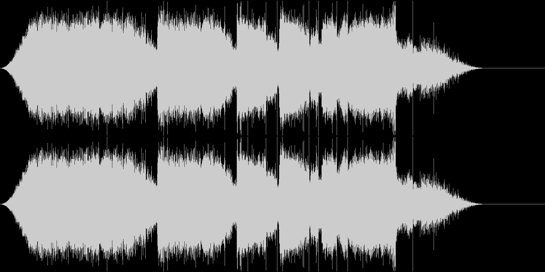 チェンソーで伐採の未再生の波形