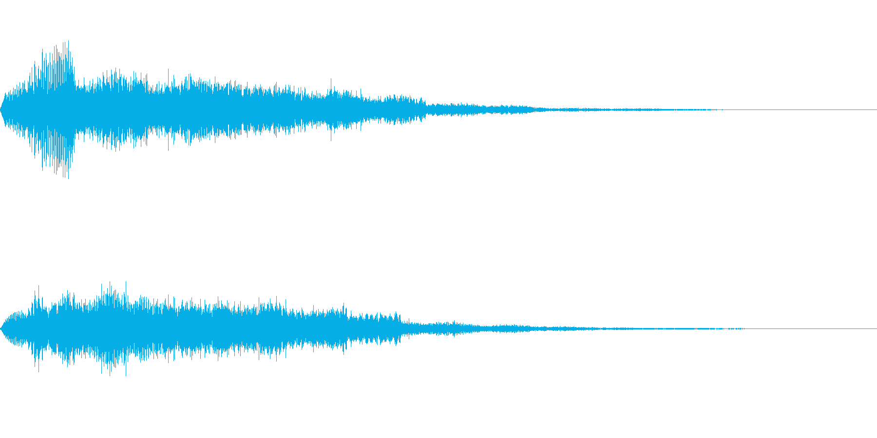 [ホワーン]回復魔法(暖かく優しい)の再生済みの波形