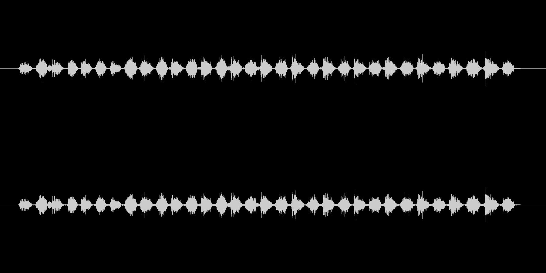 【消しゴム01-6(こする)】の未再生の波形