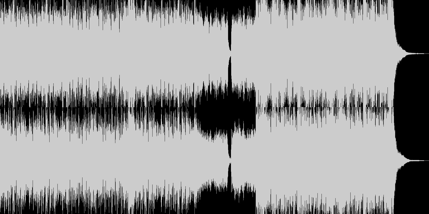 ゴージャスな雰囲気漂う日常BGMの未再生の波形